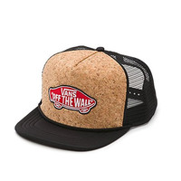 Vans Classic Patch Trucker Adjustable Hat Cap-Black/Brown
