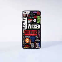 Wicked A New Musical Plastic Case Cover for Apple iPhone 6 Plus 4 4s 5 5s 5c 6