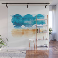 Sand and Surf Wall Mural by noondaydesign
