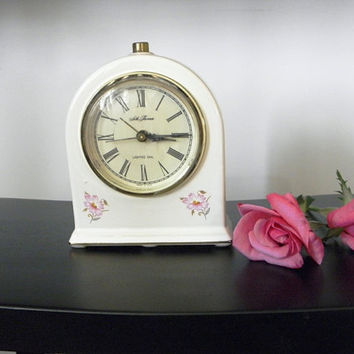 Vintage Seth Thomas Bedside Electric Alarm Clock