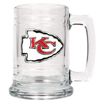 Personalized NFL Emblem Mug - Kansas City Chiefs