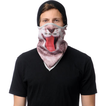 Neff Kitten Grey Face Mask Bandana at Zumiez : PDP