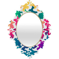 Elisabeth Fredriksson Summer Splash Baroque Mirror