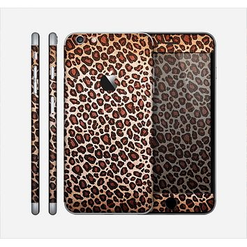 The Vibrant Cheetah Animal Print V3 Skin for the Apple iPhone 6 Plus