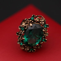 Gift New Arrival Shiny Jewelry Stylish Korean Gemstone Vintage Ring [6586198471]