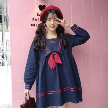 Japanese Sailor Collar Dress
