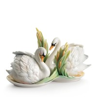 Franz CollectionSwan Lake Salt & Pepper Shakers