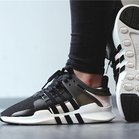 "Women ""Adidas"" Equipment EQT Support ADV Black and Pink Casual Sports Shoes"