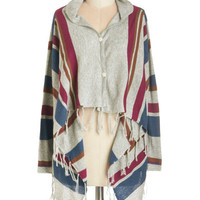 ModCloth Short Length Long Sleeve Loft Concert Cardigan
