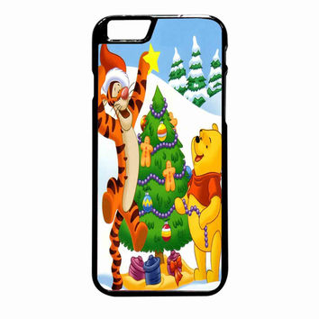 winnie the pooh christmas FOR IPHONE 6 PLUS CASE *NP*