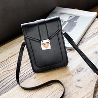Small Crossbody Bag Cellphone Pouch Purse Single Shoulder Wallet Bag For Women