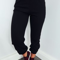 Chill Day Pants: Black