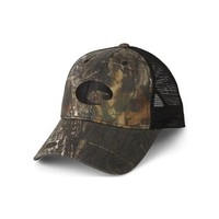 Costa Del Mar Mesh Hat - Mossy Oak New Break-Up + Black