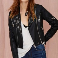 Capulet Racing Leather Moto Jacket