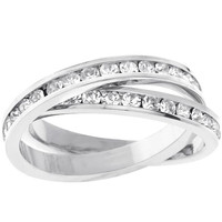 Double-band Eternity Ring, size : 05