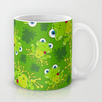 Funky Frog  Mug by markmurphycreative