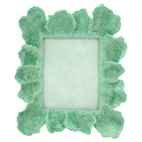 Coral Picture Frame, 8x10, Green