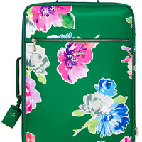 Kate Spade Classic Nylon International Carry-On Lucky Green Multi ONE