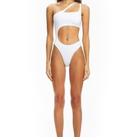 PRE-ORDER SATURN BODYSUIT - WHITE ( SHIPPING LATE APRIL )