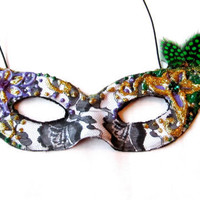 Mardi Gras Lace Masquerade Mask by FeatherFunded on Etsy