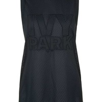 All-Over Mesh Longline Tank by Ivy Park - Topshop