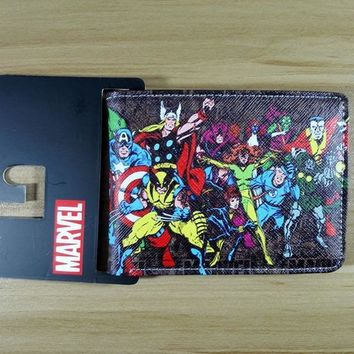 Deadpool Dead pool Taco 2018 Marvel  Heroes Thor Hulk  Thing Wolf Collection Short Wallets W243 AT_70_6