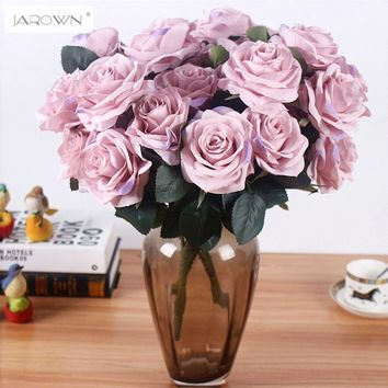 Artificial silk 1 Bunch French Rose Floral Bouquet Fake Flower Arrange Table Daisy Wedding Home Decor Party accessory Flores
