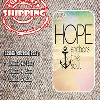 Hope Anchor The Soul iphone 4 case, iphone 5 case, samsung galaxy s3 case
