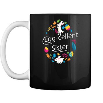 Family Matching Easter Outfit For Sister Mug