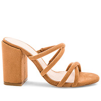 RAYE Caia Heel in Dark Tan