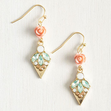 Talk Magnificence Into 'Em Earrings | Mod Retro Vintage Earrings | ModCloth.com