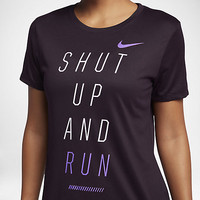 "NIKE DRY ""SHUT UP AND RUN"""
