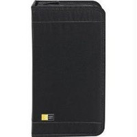 Black 92-CD Nylon Media Wallet