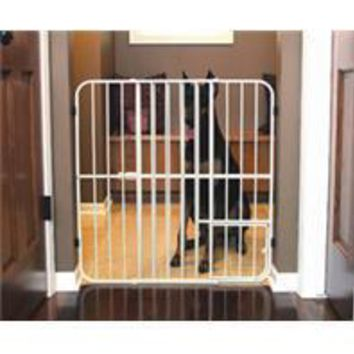 Carlson Pet Products - Big Tuffy Expandable Pet Gate With Door
