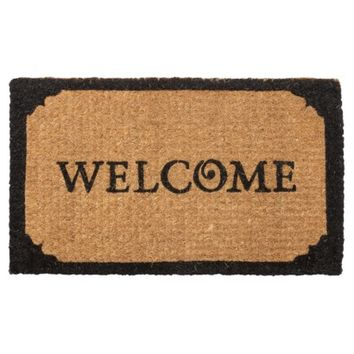 Smith & Hawken® Welcome Door Mat 18x30""