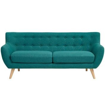 JAMON UPHOLSTERED SOFA IN TEAL
