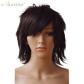 Unisex Short Party Synthetic Wig (Different Colors Available)