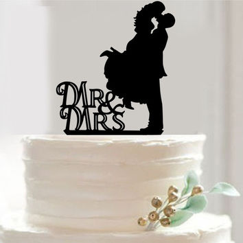 Bride And Groom Acrylic black Wedding Cake Topper Cake Stand Wedding Cake Accessories Wedding Decoration = 1929345988