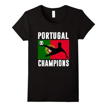 Portugal Champions 2016 Soccer T-shirt Champions Portugal
