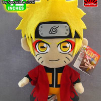 "Naruto: ""Plush - Naruto Sage Mode Shippuden 10in (25cm)"" : TokyoToys.com: UK Based e-store, Anime Toys Retail & Wholesale, Manga Action Figures,  Hentai Statues, Japanese Snacks, Pocky, DVDs, Gashapon,  Cosplay, Monkey Shirt, Final Fantasy, Bleach, Naruto,"