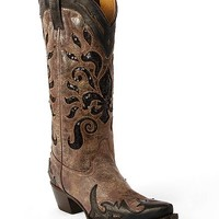 Corral Sequin Inset Cowboy Boot - Women's Shoes | Buckle