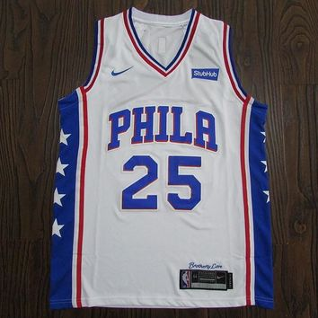 Men's Philadelphia 76ers Ben Simmons Fanatics Branded Royal Fast Break Swingman Jersey - Icon Edition - Best Deal Online