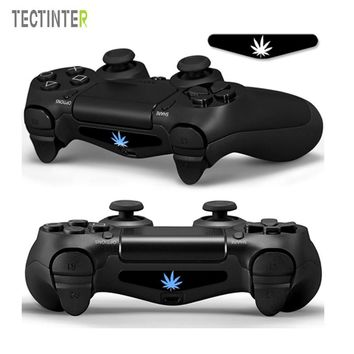 5pcs/set Weed PVC Vinyl Skins Cover For PS4 Controller