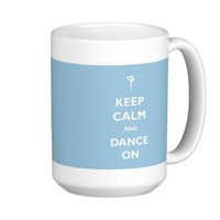 Dance On Blue Mug