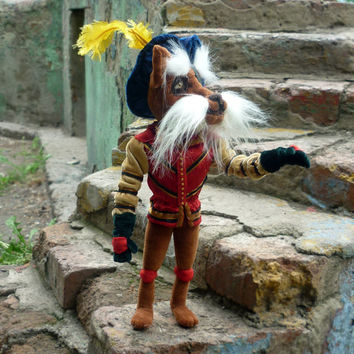 Sir Didymus plush Labyrinth character