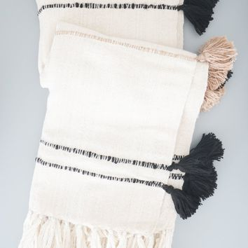 Belen Throw - Large Tassel