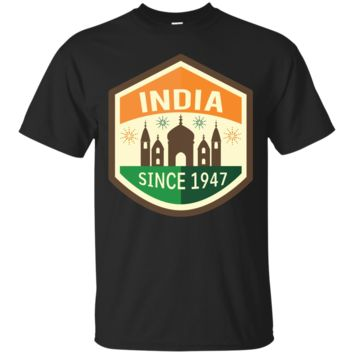 India Independence Day August 15 1947 T-shirt