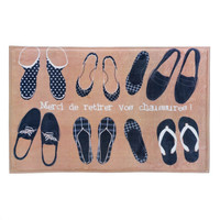 French Shoes Floor Mat