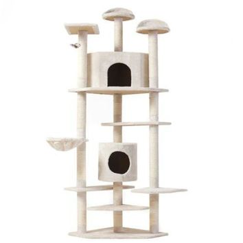 "Cat Tree 80"" Condo Furniture Scratching Post"