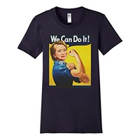 Hillary Clinton Rosie the Riveter We Can Do It T-Shirt
